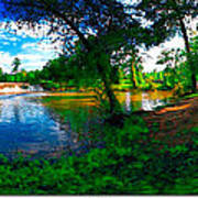 Starrs Mill 360 Panorama Poster