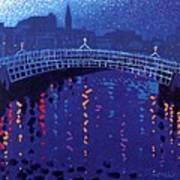 Starry Night In Dublin Poster