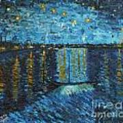 Starry Night Over The Rhone Poster