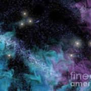 Starscape Nebula Poster