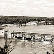 Starved Rock Lock And Dam Poster