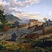 Station At Orizaba, 1878 Poster