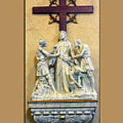 Station Of The Cross 10 Poster