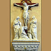 Station Of The Cross 12 Poster