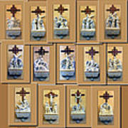 Stations Of The Cross Collage Poster