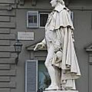 Statue Of Carlo Goldoni Poster