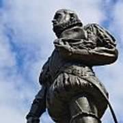 Statue Of Don Pedro Menendez De Aviles Poster