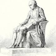 Statue Of James Watt In Westminster Poster