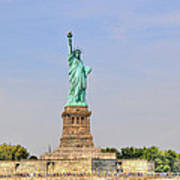 Statue Of Liberty Macro View Poster