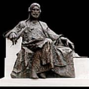 Statue Of Nizami Ganjavi  Poster