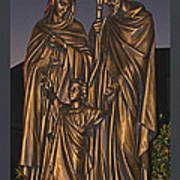 Statue Of The Holy Family  Poster