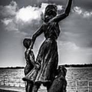 Statue St Clair Mi Poster