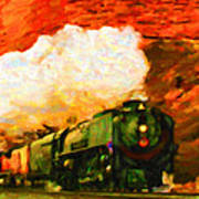 Steam And Sandstone Poster