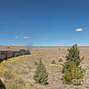 Steam Engine 489 At The Lava Tank On The Cumbres And Toltec Scenic Railroad Poster