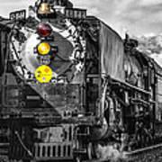 Steam Engine 844 Poster