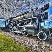 Steam Locomotive No 606 Poster