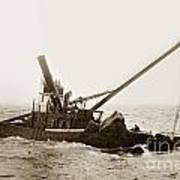 Steam Schooner Celia Steam SchoonerBuilt In 1884Lost At Pt Joe Poster