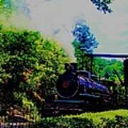 Steam Train Of Sevierville Poster