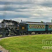 Steam Train Tr3627-13 Poster
