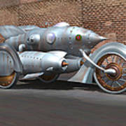 Steam Turbine Cycle Poster