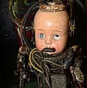 Steampunk - Cyborg Poster by Paul Ward