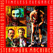 Steampunk Machines Celebrating 200 Years Of Timeless Elegance And Sustainable Innovation 20140515 C7 Poster