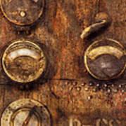 Steampunk - Meters D-66 Poster