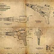 Steampunk Raygun Poster