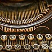 Steampunk - Typewriter - Underwood Poster