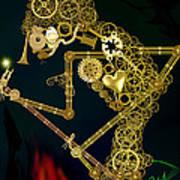 Steampunk Wayang Kulit Poster