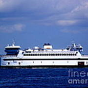 Steamship Authority Ferry Poster