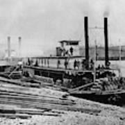 Steamships, C1864 Poster
