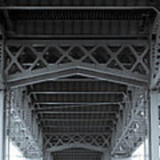 Steel Girder Bridge Poster