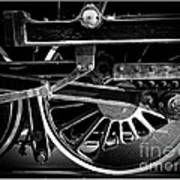 Steel Wheels - Steam Train Drivers Poster