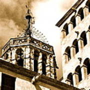 Steeple Barcelona Poster