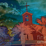 Steeple Bell Tower Poster by Beverly Guilliams