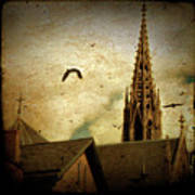 Steeple Crows Poster