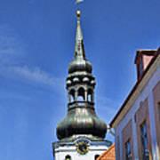 Steeple - Tallin Estonia Poster