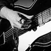 Stella Burns - Guitar Close-up Poster