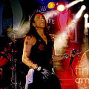 Stephen Pearcy Of Ratt Poster