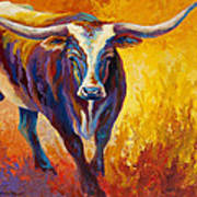 Stepping Out - Longhorn Poster