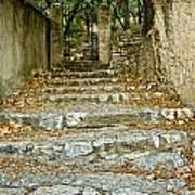 Steps In Cavaillon Poster