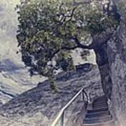 Steps To Beauty On Moro Rock Poster