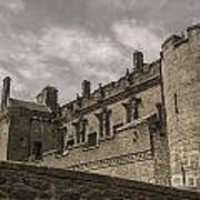 Sterling Castle Scotland Sterling Closed Grey Poster