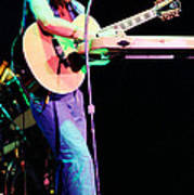 Steve Howe Of Yes 1980 Drama Tour Poster