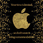 Steve Jobs Quote Original Digital Artwork Poster
