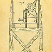 Stevens Roller Coaster Patent Art  3 1884 Poster by Ian Monk