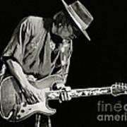 Stevie Ray Vaughan 1984 Poster