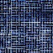Stick Labyrinth Poster