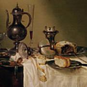 Still Life, 1642 Oil On Canvas Poster